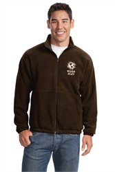 Custom Embroidered Port Authority Fleece Jacket