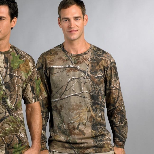 Code V Realtree Camouflage Long-Sleeve T-Shirt