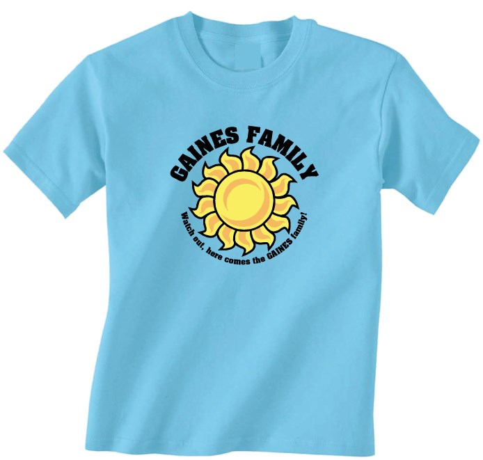 R3 4 Family Reunion T Shirt Design R3 4