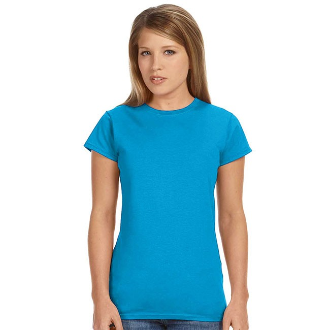 Gildan g640l ladie 39 s softstyle t shirt for Gildan softstyle t shirt