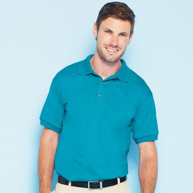 Gildan G880 Dryblend 50 50 Jersey Knit Polo Shirt