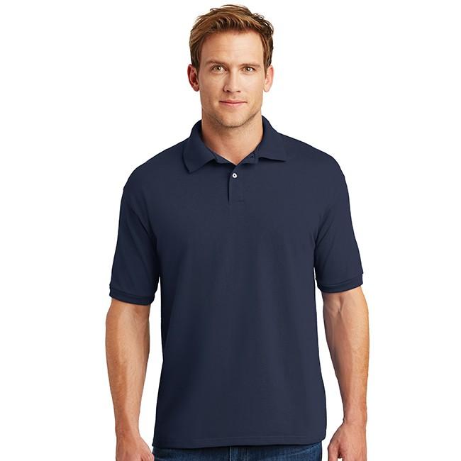 Hanes Shirt Hanes Jersey Knit Polo Shirt