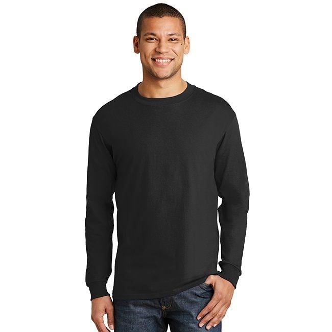 Hanes 5186 Long Sleeve Beefy T T Shirt