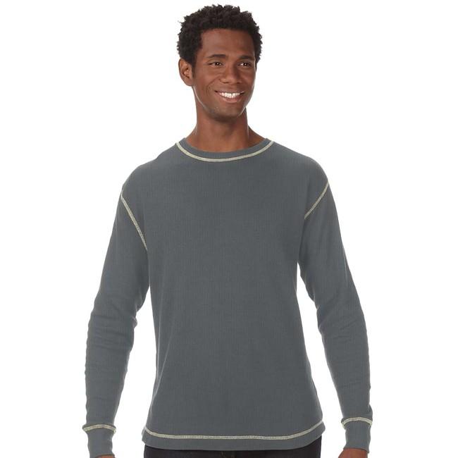 J America Ja8238 Vintage Long Sleeve Thermal T Shirt