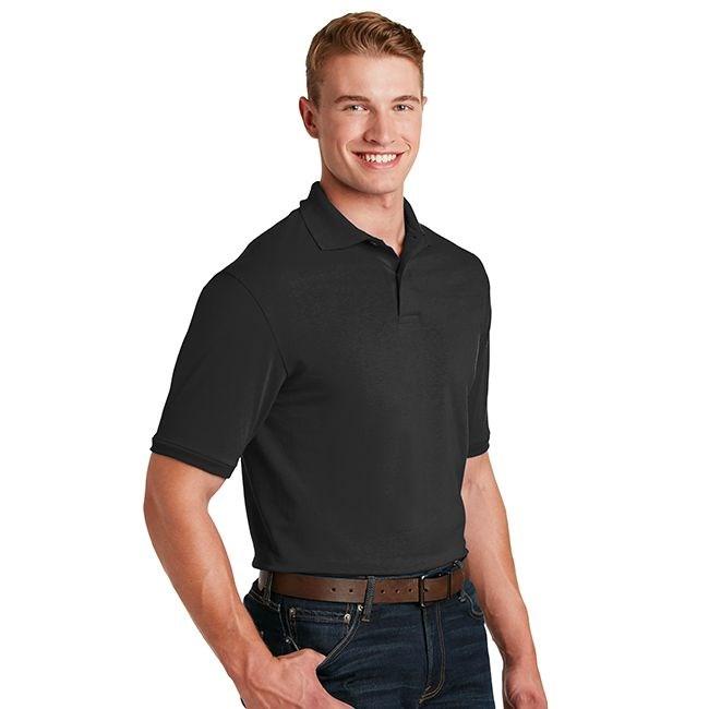 Polo Shirt And Sweatpants Jersey Knit Polo Shirt