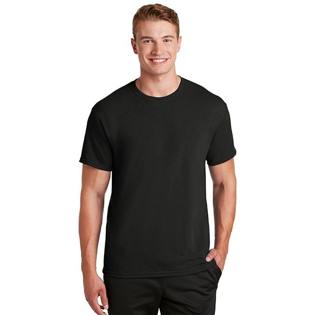 jerzees 21m 100 polyester crewneck t shirt. Black Bedroom Furniture Sets. Home Design Ideas