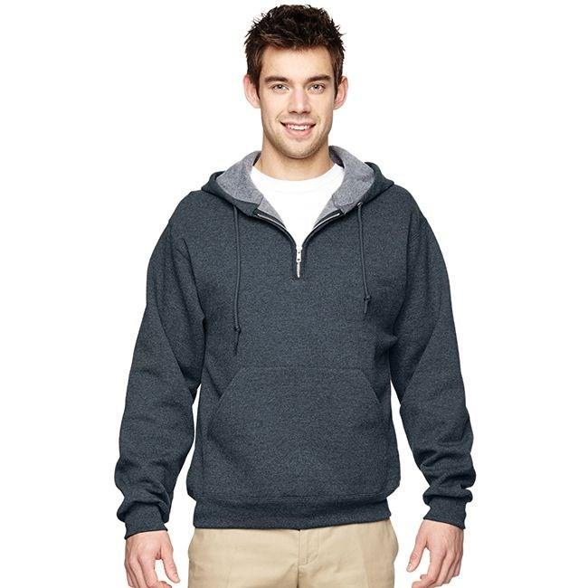 Zip pullover hoodie jerzees 50 50 quarter zip pullover hoodie