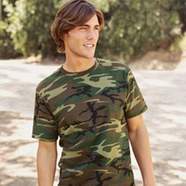 Code v ls3906 100 cotton camouflage t shirt for Gildan camouflage t shirts