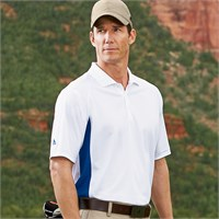 Adidas ClimaLite Colorblock Golf Shirt