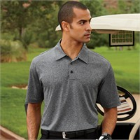 Adidas Golf ClimaLite Heather Polo Shirt