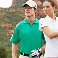 Adidas Golf ClimaLite Lightweight Pique Polo Shirt