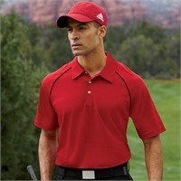 Adidas Golf ClimaLite Piped Polo Shirt
