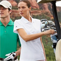 Adidas Golf Ladies' ClimaLite Lightweight Pique Polo Shirt