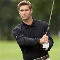 Adidas ClimaLite Tour Pique Long Sleeve Polo Shirt