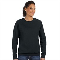 Anvil Ladie's Combed Ringspun Cotton Blend Crew Neck Sweatshirt