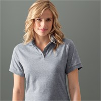 Anvil Ladies' Pique Knit Polo Shirt