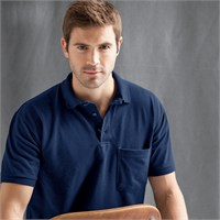Anvil Pique Polo with Pocket