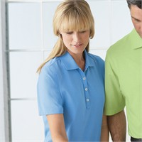 Ashworth Ladies' High Twist Cotton Tech Polo