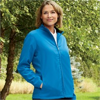Ashworth Ladies' Full-Zip Wind Jacket