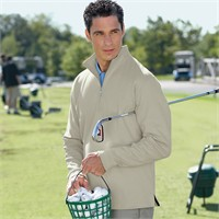 Ashworth Micro Brushed Half-Zip Jacket