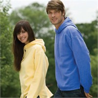 Authentic Pigment Boxy Hooded Sweatshirt
