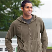 Authentic Pigment Full Zip Hoodie Sweatshirt