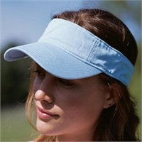 Authentic Pigment Direct-Dyed Twill Visor