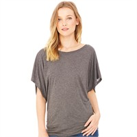 Bella Ladies' Flowy Draped Dolman T-Shirt
