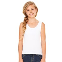 Bella Girls' 1x1 Baby Ribbed Tank Top