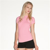 Bella Ladies' Cotton/Spandex Short-Sleeve T-Shirt