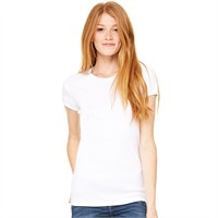 Bella Ladies' Baby Rib Crew Neck Tee
