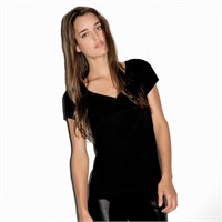 Bella Ladies' Double-V Sheer T-Shirt