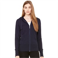 Bella French Terry Full-Zip Hooded Sweatshirt