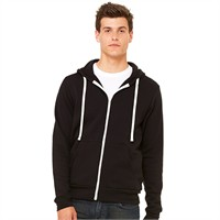 Canvas Unisex Triblend Full-Zip Hoodie