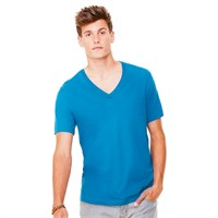 Canvas Unisex Deep V-Neck T-Shirt