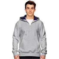 Champion 1/4 Zip Cotton Max Hooded Sweatshirt