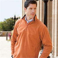 Chestnut Hill Microfleece Quarter-Zip Pullover