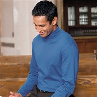 Chestnut Hill Long-Sleeve Mock Neck T-Shirt