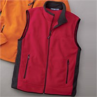 Chestnut Hill Polartec Fleece Full-Zip Vest