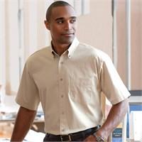 Chestnut Hill Short-Sleeve Twill Shirt