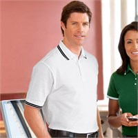 Chestnut Hill Tipped Performance Pique Polo Shirt