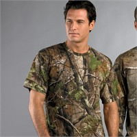 Code V Realtree Camouflage T-Shirt