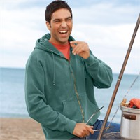 Comfort Colors Garment-Dyed Full-Zip Hood