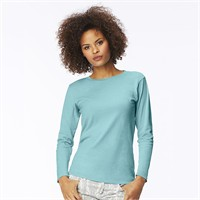 Comfort Colors Ladies' Garment-Dyed Long-Sleeve T-Shirt