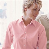 Devon & Jones Ladies' Pima Twill Shirt