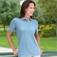 Devon & Jones Ladies' Pima Pique Polo Shirt
