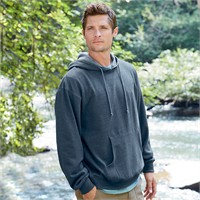Econscious Organic/Recycled Heathered Fleece Pullover Hoodie