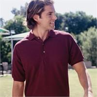 Gildan 50/50 Pique Knit Polo Shirt