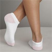 Gildan Girl's No Show Socks (6 Pairs)