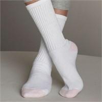 Gildan Ladies' Crew Socks (6 Pairs)